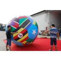 Buy cheap Super Quality Big Inflatable Giant Soccer Ball PVC Football Model for Advertising from wholesalers