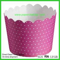 Quality Greaseproof Muffin Cup Paper Baking Liner for sale
