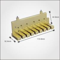 China bronze color anodize aluminum profile ,extrusion power heat sink on sale