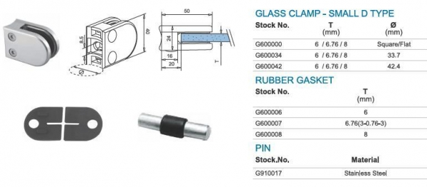 Buy Glass Railings Glass Clamps at wholesale prices