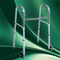 patent aluminium foldable stair climbing disabled walking aid