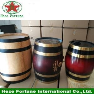 Buy Stock oak wooden wine barrel for sale at wholesale prices