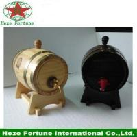 Quality Handmade little customized oak barrel for home decoration for sale