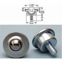 Quality Machined Stud Mounted Style 2 Ball Transfers for sale