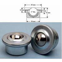 Quality Machined Press-Mount Style 3 Ball Transfers for sale
