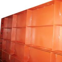 Construction Concrete Steel Column Formworks Panel Painted A Type with Plate Thickness 1.7mm