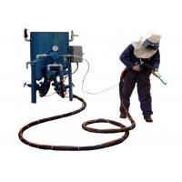 Buy cheap Dry Type Portable Sandblasting Machine With Compressed Air Eco - Friendly from wholesalers