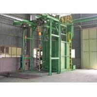 Buy cheap Cylinder Cleaning Industrial Shot Blaster Hanger Type Sand Removal 500kg from wholesalers
