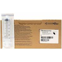 Quality BD 60ml CC SYRINGE ONLY - Box of 40 - Leur Lock Tip for sale