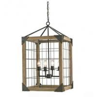 Quality Wooden shade shop & home chandelier lights for sale
