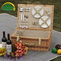 Quality 4 person picnic basket ESPB009 for sale
