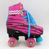 Quality PVC Flashing Wheels Soy Luna Kids Roller Skating Shoes for sale