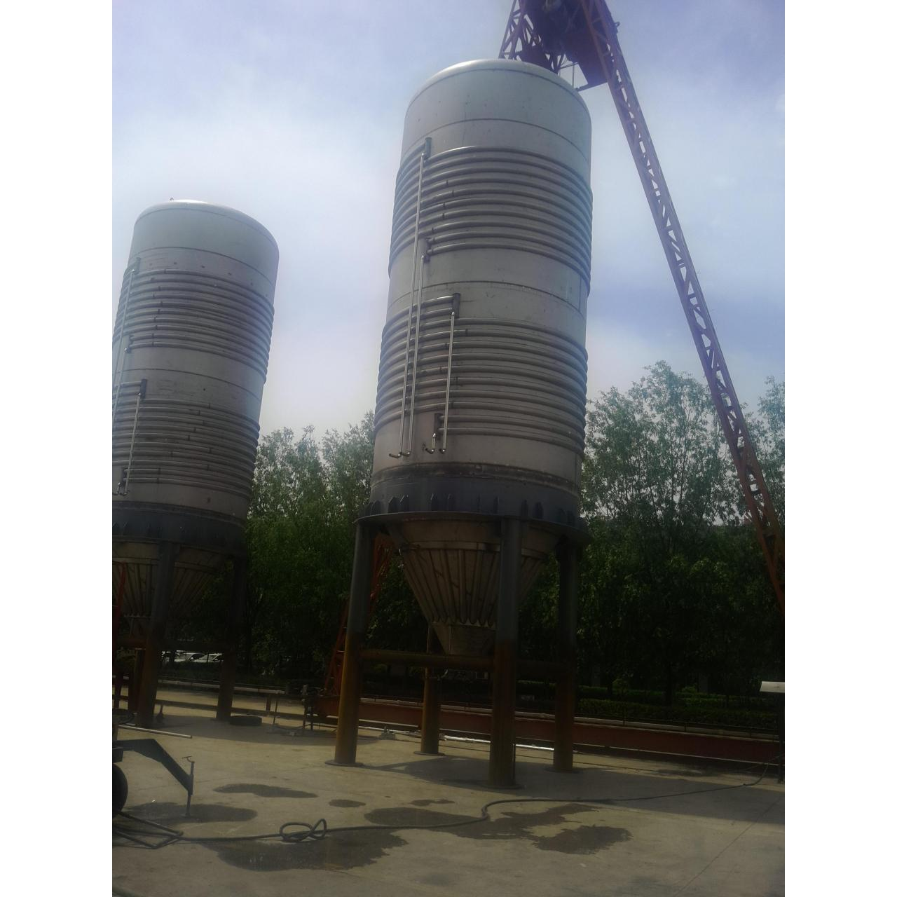 150 tons of fermentation tank field construction projects