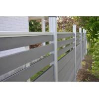 Buy cheap Easily Assembled Decorative Wood Plastic Composite WPC Garden Fence Panels from wholesalers