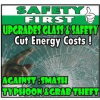 Safety & Security Window Film Safety Film-Against Smash