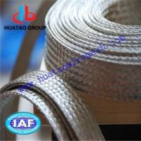 Buy cheap Copper Braid Mesh Tape Flexible Tinned Copper Braids from wholesalers
