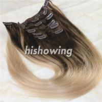 Quality HAIRS (CLI-C-04) Clip In 2T Color #4&18 for sale