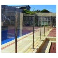 Quality stainless steel post design semi frame pool glass fencing for sale