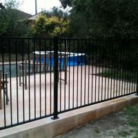 Galvanized Steel Pool Safety Fence Rails