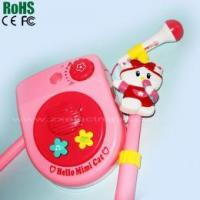 Stage style vertical toy microphone