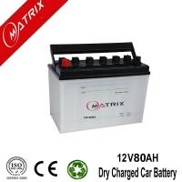 Quality 12V 80AH Dry Automotive Battery for sale