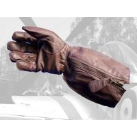 Quality Aero Military RAF 1933 Pattern Straight Zip Flying Gloves for sale