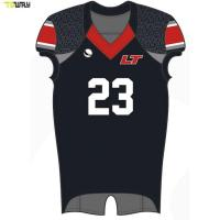 Quality Wholesale Custom American football practice jerseys Sublimation football jersey for sale