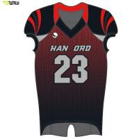 Quality Custom wholesale sublimated youth american football jersey for sale