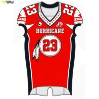 Quality High Quality custom sublimated american football jerseys manufacuterers for sale