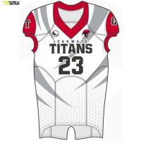 Quality Wholesale American football training jerseys Sublimation football jersey for sale