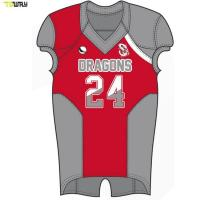 Quality Full sublimation american football jersey custom team football jersey for sale