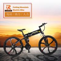 Quality Electric Bicycle Manufacturers 26 Inch Samsung Lithium Battery Adult Folding Electric Mountain Bike for sale