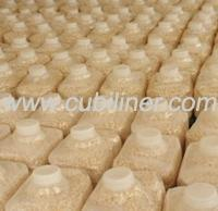 wide spout collapsible LDPE container for salted food