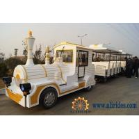 Quality Cheap Amusement Park Diesel Tourist Trackless Train For Sale for sale
