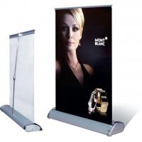 China Roll up banner Mini roll up display on sale