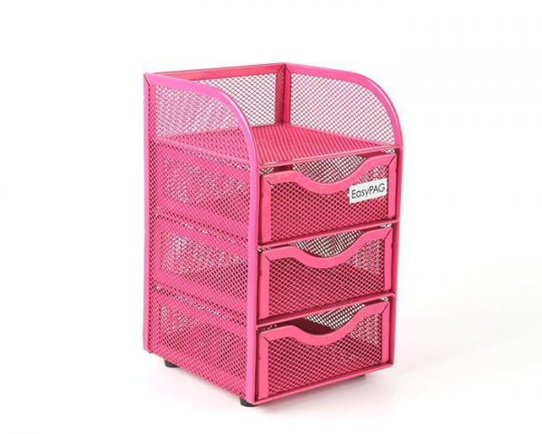 Buy Office Desktop Accessories Container Organizers with 3 Storage Drawer at wholesale prices