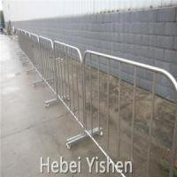 Metal crowd control barrier/portable barricades