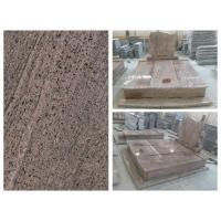 Tombstone Gravestone Monument 2017 New arrival California Red Tombstone For Double From China for sale
