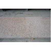 China Flamed Rusty Yellow G682 Granite Tiles for sale