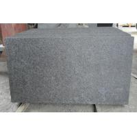 Flamed G684 Black Basalt Tiles for sale