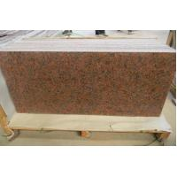 China Polished Maple Red Dark Red G562 Granite Tiles for sale