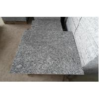 Polished Spray White Granite Thin Tiles for sale
