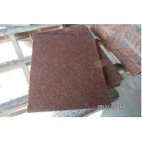 Polished India Red Granite Thin Tiles for sale