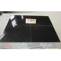 China Absolutely Black Thin Tiles Granite Cut To Size for sale