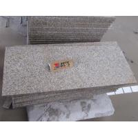 China Ming Gold G682 Granite Tiles Flamed Finish Way for sale