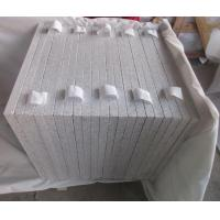 China Grey White Color G665 Granite Tiles Honed Finish Way for sale
