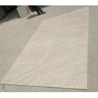China Rusty Yellow Granite G682 Tiles 600x900 Flamed Finish Way for sale