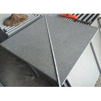 Padang Dark Granite Cut To Size G654 Flamed Finish way for sale