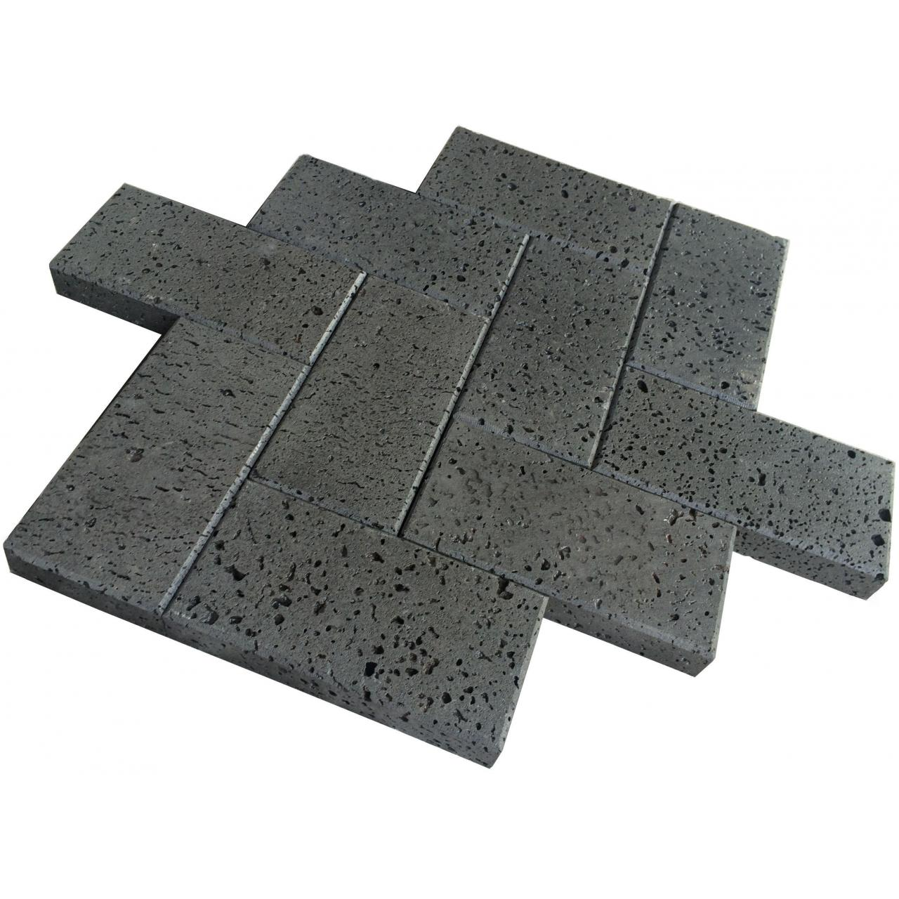 Granite Cut To Size Lava Stone With Holes for sale