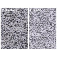 Jilin White Granite Cut To Size Polished and Flamed Dark Grey Granite for sale